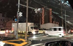 台風21号停電