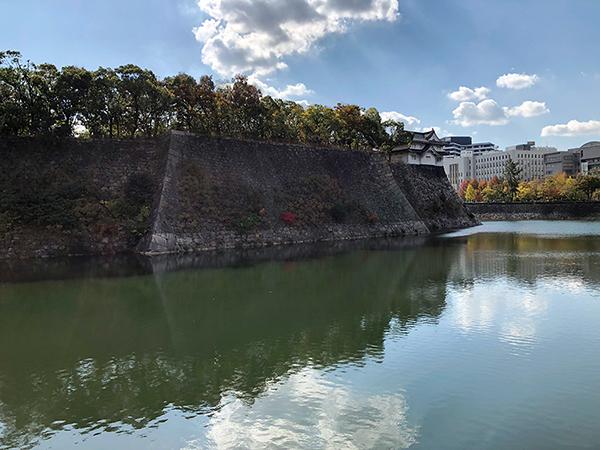大阪城外濠
