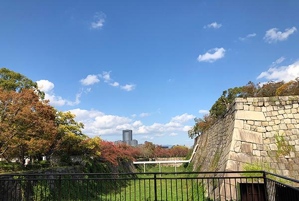 大阪城内濠