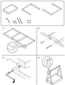 テクニカルイラスト(商品組立説明)