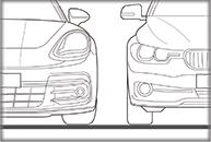 porsche-BMWイラスト