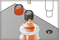 真空管アンプ取付け方法イラスト